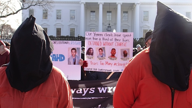 DC Guantanamo Protest Jan 2015-57 from Flickr via Wylio