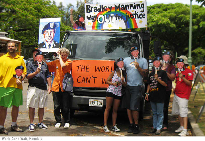 WAY OUT for Bradley Manning