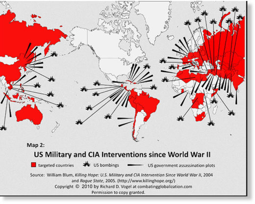 US military interventions