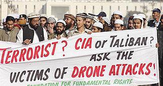 Resultado de imagen de asesinar con aviones no tripulados civiles inocentes