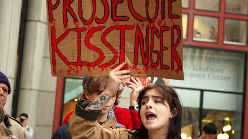 H18 kissinger protester